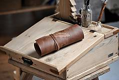 Papiernictvo - kožený rolovací peračník KAYSA - 10497804_