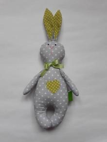Hračky - Zajac - hračka - zelená - 10497445_
