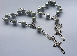 Iné šperky - Ruženec - 10497306_