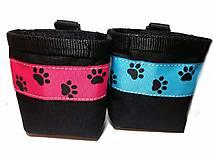 Pre zvieratká - Pamlskovník Psie labky na ružovej - 10497056_