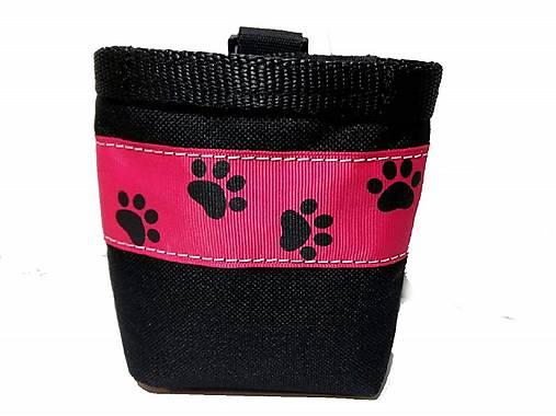 Pamlskovník Psie labky na ružovej