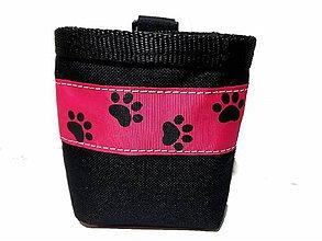 Pre zvieratká - Pamlskovník Psie labky na ružovej - 10497055_