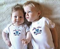 Tričká - tričko malý a veľký šibač - 10499936_