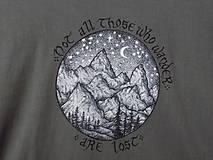 Tričká - Pánske tričko - Wanderer - 10497589_