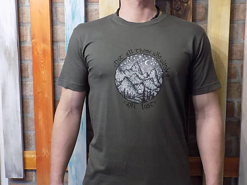 Pánske tričko - Wanderer