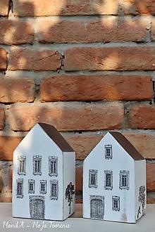 Dekorácie - Domčeky plné života - 10497432_