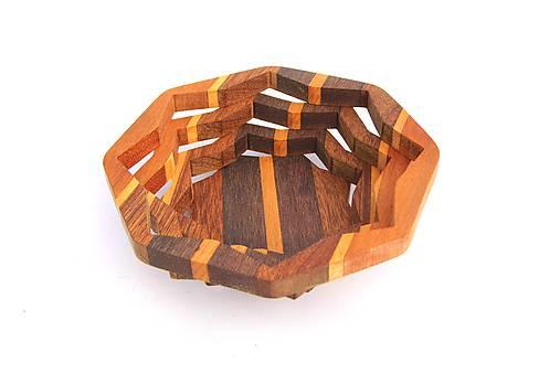 Drevená miska 16cm