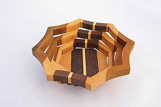 Nádoby - Drevená miska 16cm - 10496872_