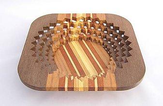Nádoby - Drevená miska 26cm - 10496905_