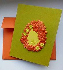 Papiernictvo - Veľkonočné vajíčko plné jari - 10497125_
