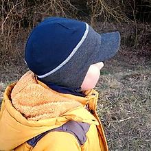 c2f870fb83a4 Detské čiapky - Pružná šiltovka na zaväzovanie-rôzne odtiene - 10497457