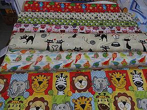 Textil - Bavlna - detský vzor - 10499578_