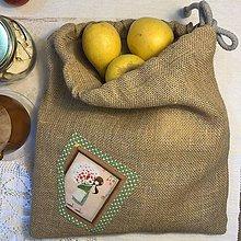 Úžitkový textil - Jutové vrecko - VERONIKA III - 10496961_