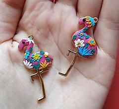 Iné šperky - Prívesok Flamingo - 10498863_