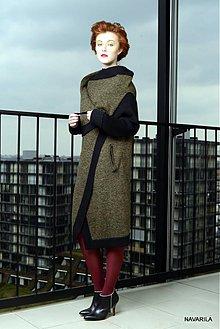 Kabáty - pletený jarní plášť KLEMENT - 10498135_