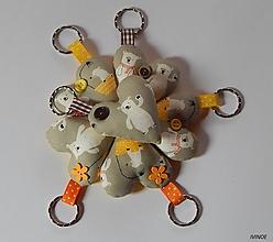 Kľúčenky - Prívesky na kľúče - medvedíkové - 10497560_