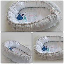Textil - hniezdo pre bábätká - 10497079_
