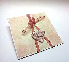 Papiernictvo - Pohľadnica ... srdiečková - 10502246_