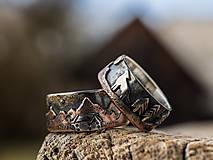Prstene - Naše obrúčky - náš príbeh - 10503313_