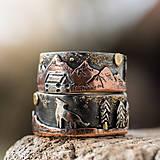 Prstene - Naše obrúčky - náš príbeh - 10503315_