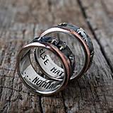 Prstene - Naše obrúčky - náš príbeh - 10503316_