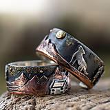 Prstene - Naše obrúčky - náš príbeh - 10503317_