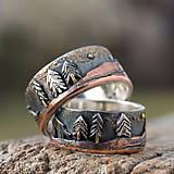 Prstene - Naše obrúčky - náš príbeh - 10503318_
