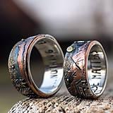 Prstene - Naše obrúčky - náš príbeh - 10503319_