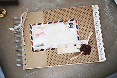 Papiernictvo - Cestovateľský album / kniha hostí - 10502131_