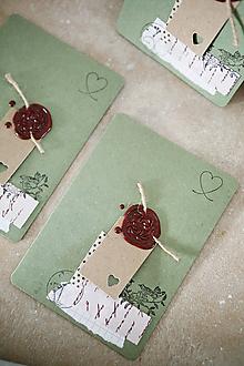 Papiernictvo - Narodeniny alebo svadba / scrapbook pohľadnica - 10502572_