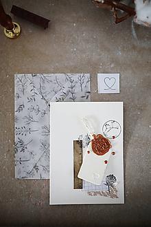 Papiernictvo - Narodeniny alebo svadba / scrapbook pohľadnica - 10502615_
