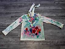 Košele - Blúzka farebné vítanie jari - 10501010_