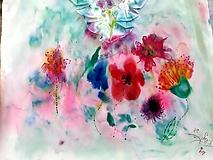 Košele - Blúzka farebné vítanie jari - 10501070_