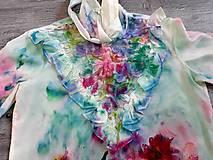 Košele - Blúzka farebné vítanie jari - 10501072_