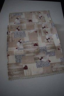 Úžitkový textil - STŘEDOVÝ BĚHOUN ...husičky - 10502856_