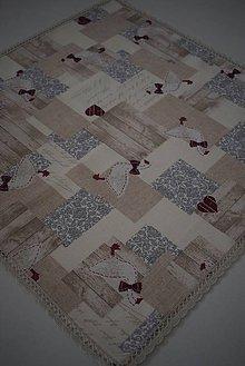 Úžitkový textil - STŘEDOVÝ UBRUS .. velikonoce - 10502872_