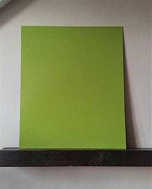"Tabuľky - Magnetická tabuľka ""Jablkovo zelená"" (50cm x 60cm) - 10503032_"