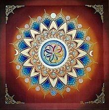 Obrazy - Mandala nových príležitostí a nekonečnej tvorivej sily - 10500870_
