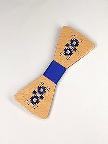 Doplnky - Pánsky drevený motýlik - 10503069_