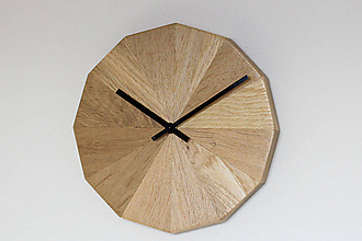 Hodiny - Nástenné hodiny dubo - 10502204_