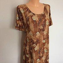 Šaty - Maxi šaty-neukončené 58-60 - 10502254_