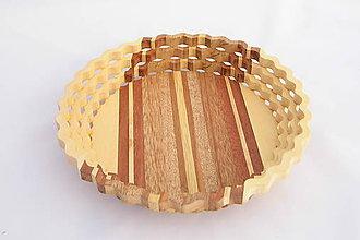 Nádoby - Drevená miska 26cm - 10503078_