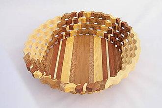 Nádoby - Drevená miska 26cm - 10503089_