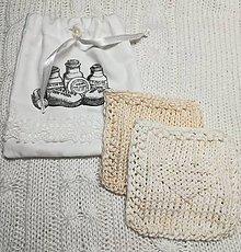 Úžitkový textil - Vrecká na odličovacie tampóny - 10503246_