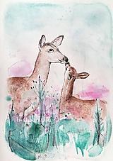 Detské doplnky - Srnky - originál - 10503294_