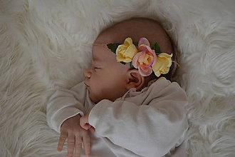 Detské doplnky - Baby čelenka - 10500549_