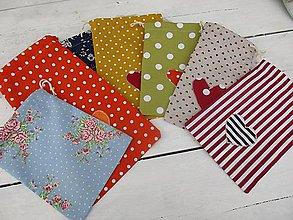 Úžitkový textil - vrecká na odličovacie tampóny - 10502805_