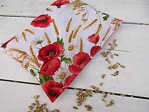 Úžitkový textil - Makový špaldový ,nahrievací vankúš - 10502895_