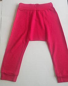 Detské oblečenie - Legínky s pudlovým strihom - 10502229_