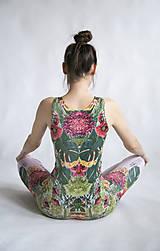 Iné oblečenie - FLOWER POWER OVERAL - 10502062_